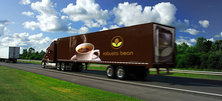 Robusta Bean Trucking moving the best coffee on the planet...